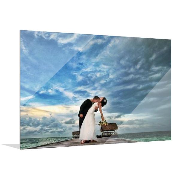 aluminum mounted photos