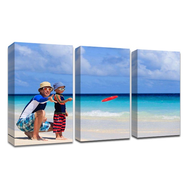 Split Photo Canvas Prints Come with framed and get ready to hang