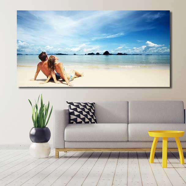 Panoramic Canvas Prints-Stretched Mounted Ready To Hang
