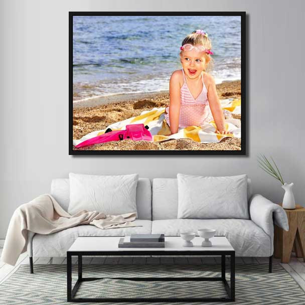 floater frames for canvas prints