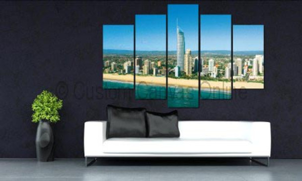 Landscaping wall art gold coast photography on canvas prints