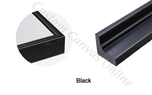 black-floating-frame