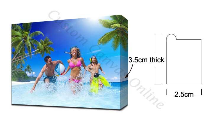 3.5cm wood frame