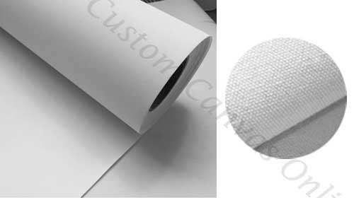 100% cotton canvas