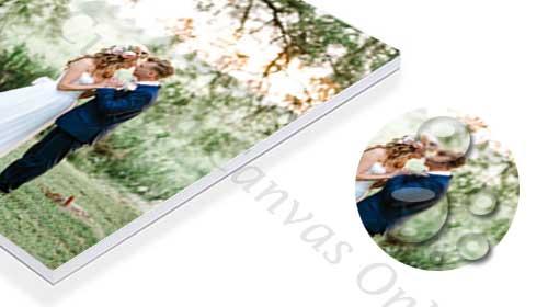 floating canvas frame