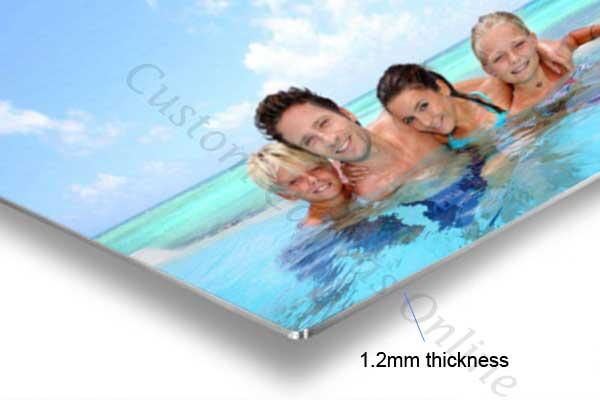 print photo aluminium