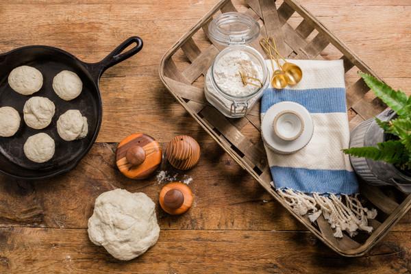 Wooden Biscuit Cutter