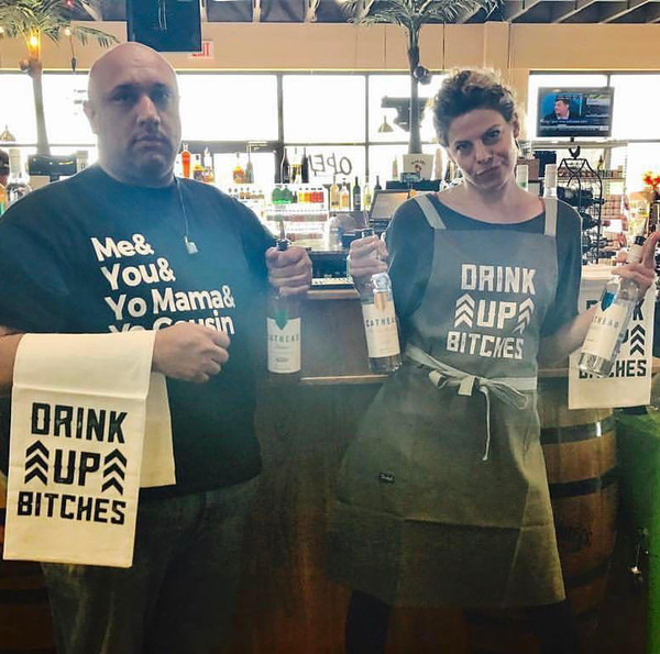 Drink Up Bitches Apron