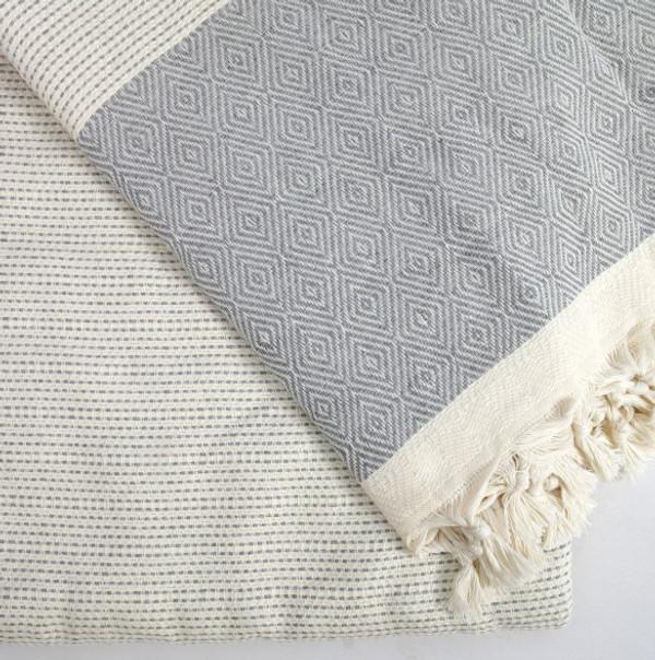 Silver Quick Pick XL Turkish Blanket