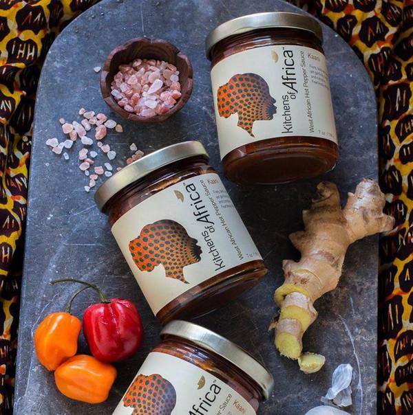 West African Hot Pepper Sauce - Kaani