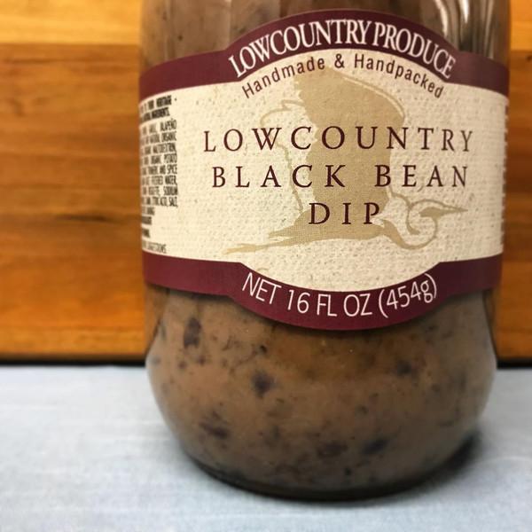 Lowcountry Black Bean Dip