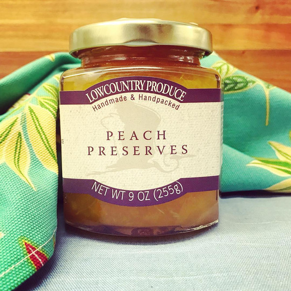 Lowcountry Peach Preserves