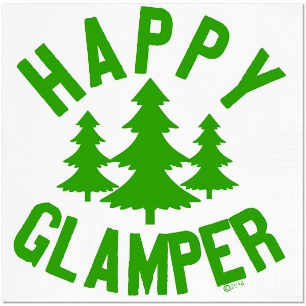 Happy Glamper Cocktail Napkins