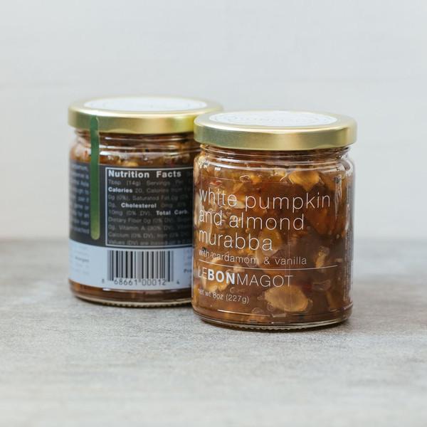 White Pumpkin and Almond Murabba (with Cardamom & Vanilla)