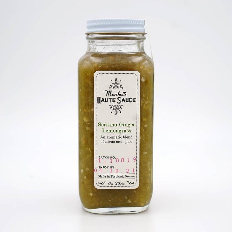 Serrano Ginger Lemongrass Haute Sauce
