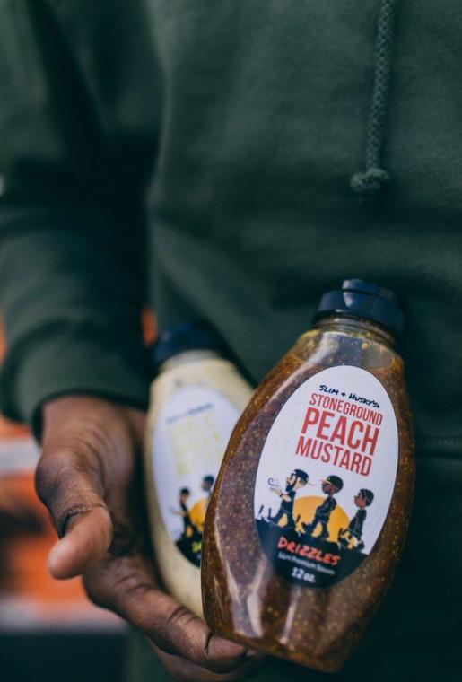 Stoneground Peach Mustard Drizzle