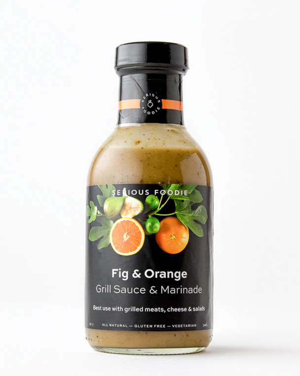 Southern Italian Fig and Orange Grill Sauce & Marinade