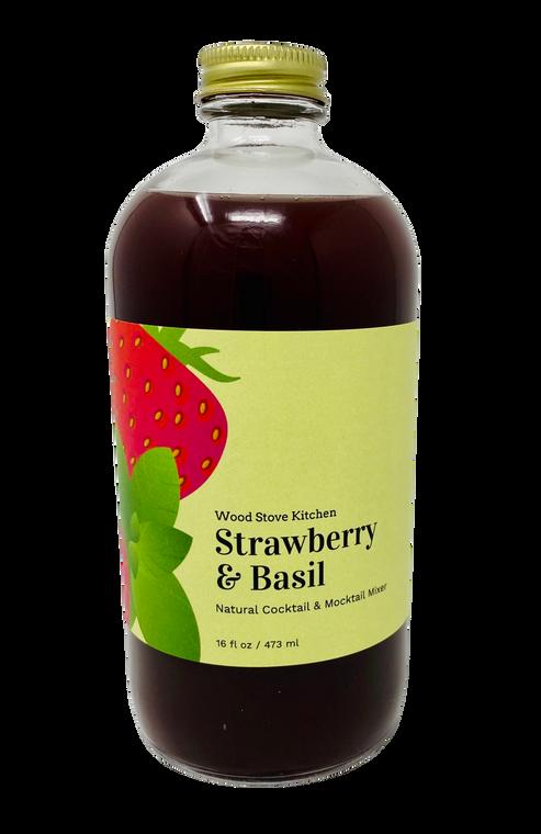 Strawberry & Basil Mixer