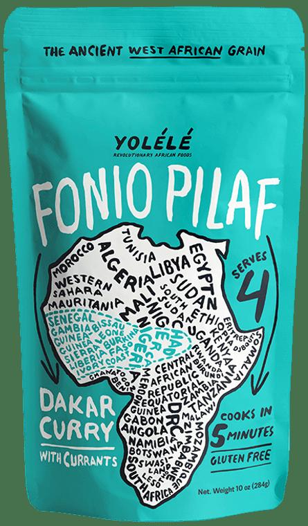 Dakar Curry Fonio: Sweet Currants