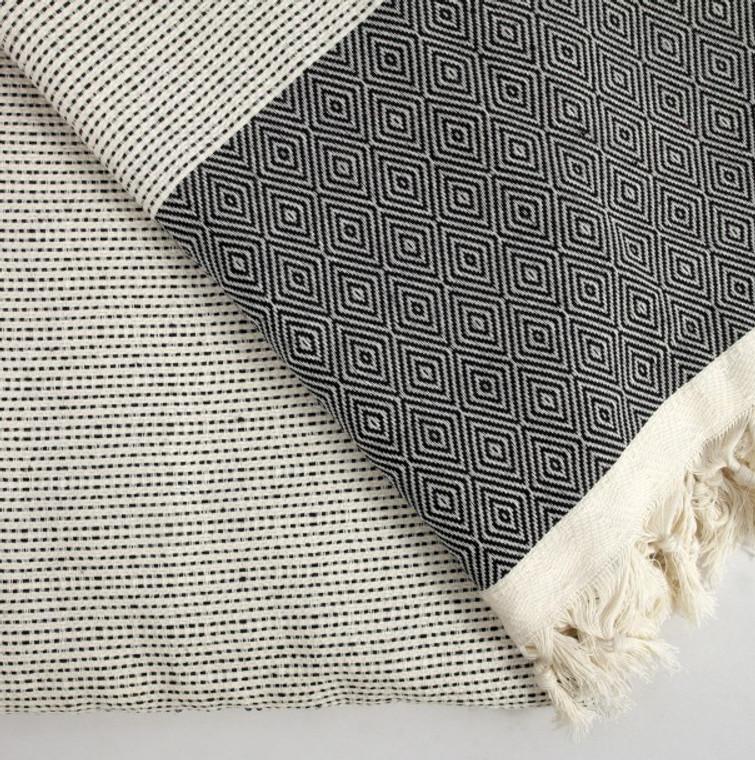 Black Quick Pick XL Turkish Blanket