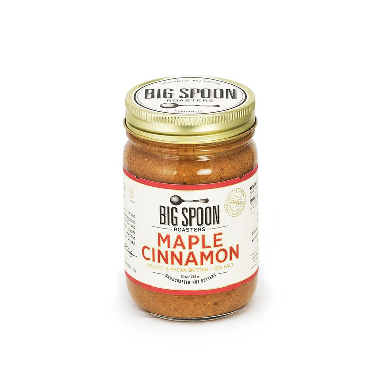Maple Cinnamon Peanut & Pecan Butter