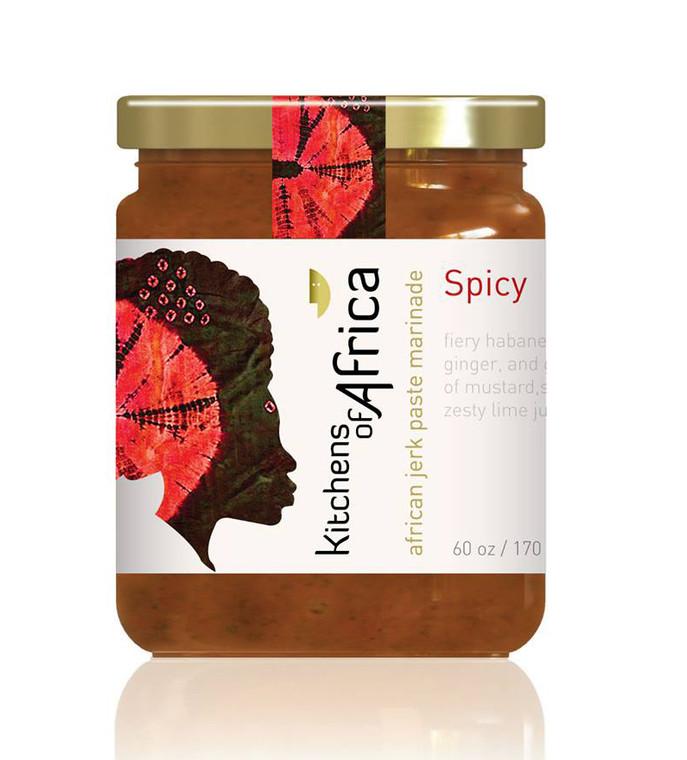 African Jerk Paste Marinade - Spicy