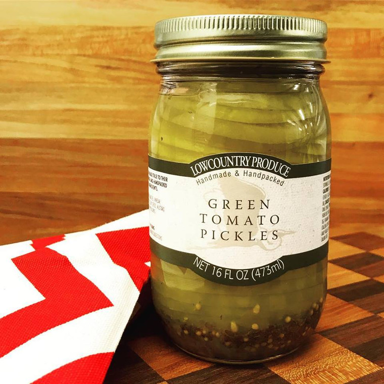 Lowcountry Green Tomato Pickles
