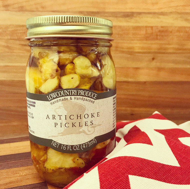 Lowcountry Artichoke Pickles
