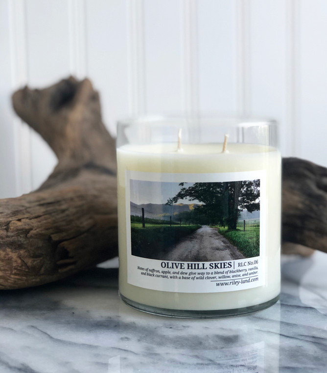 Olive Hill Skies Candle