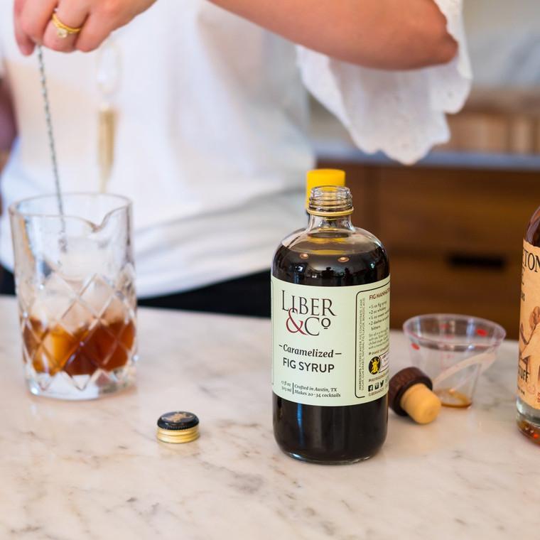 Caramelized Fig Syrup