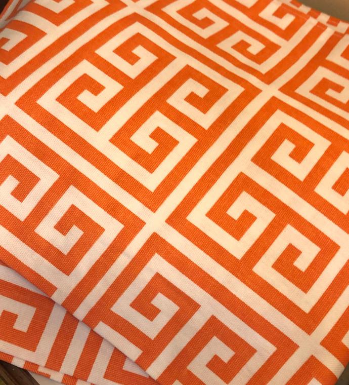 Bonela Linens - Orange Greek