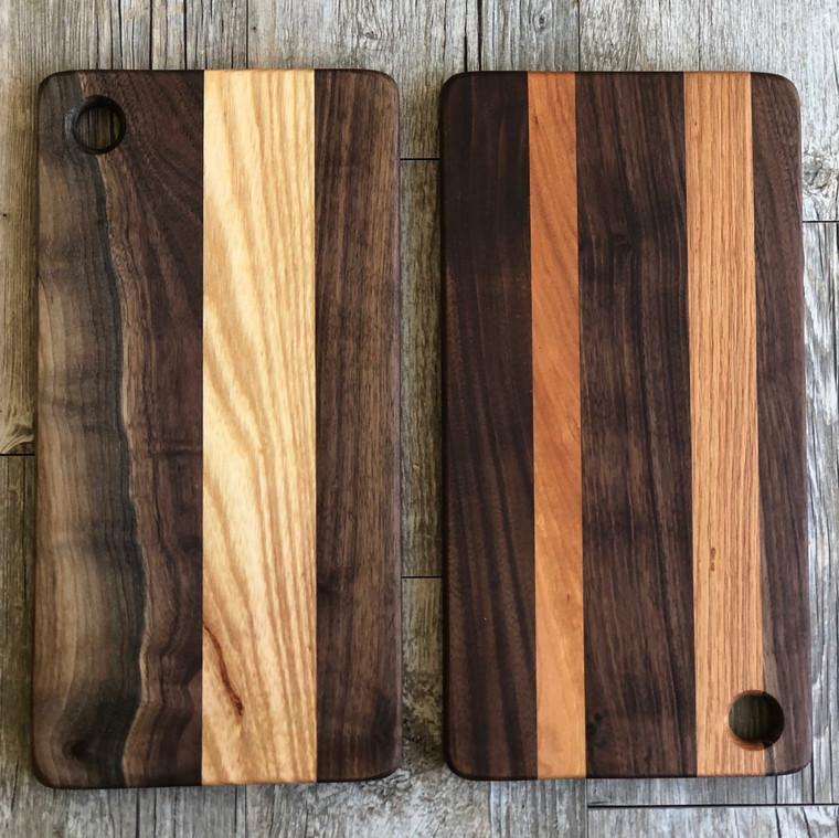 Small Stripe Cutting Board