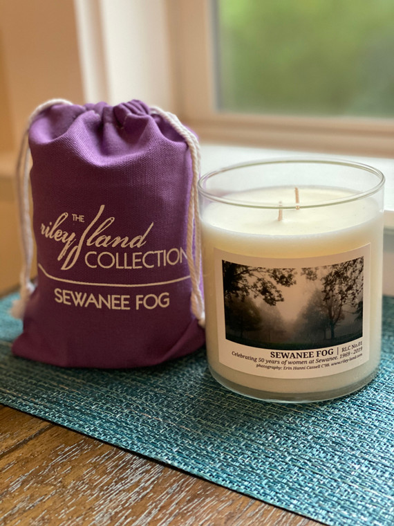 Limited Edition Sewanee Fog Candle - Celebrating 50 Years of Women
