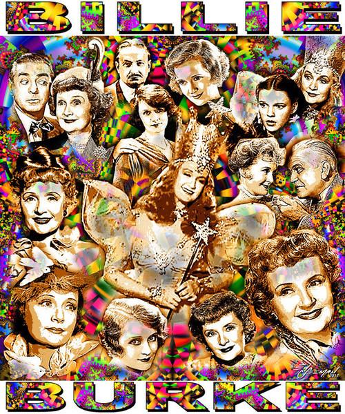 Billie Burke Tribute T-Shirt or Poster Print by Ed Seeman