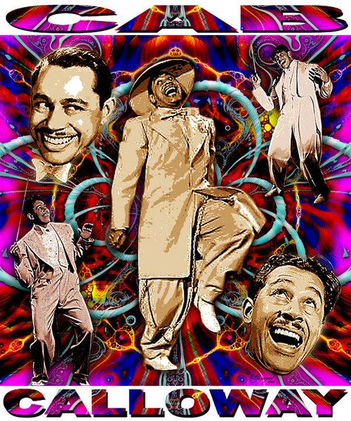 Cab Calloway Tribute T-Shirt or Poster Print by Ed Seeman