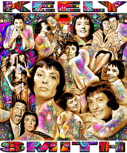 Keely Smith Tribute T-Shirt or Poster Print by Ed Seeman