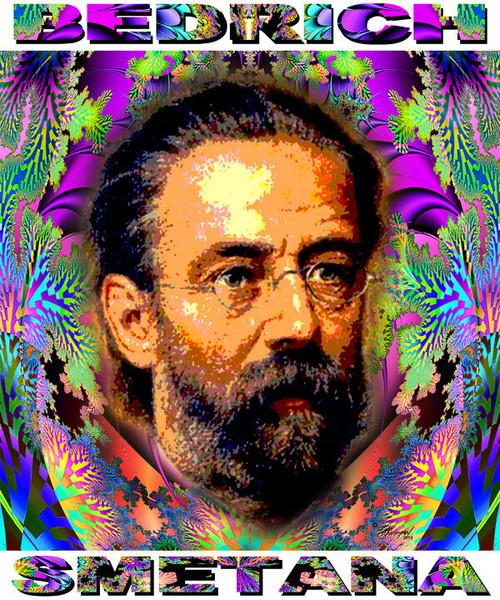 Bedrich Smetana Tribute T-Shirt or Poster Print by Ed Seeman
