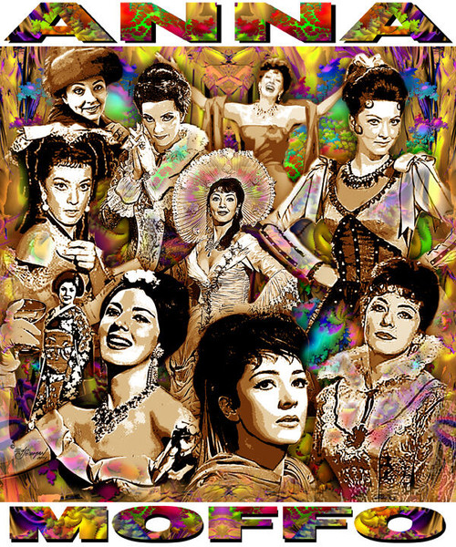 Anna Moffo Tribute T-Shirt or Poster Print by Ed Seeman