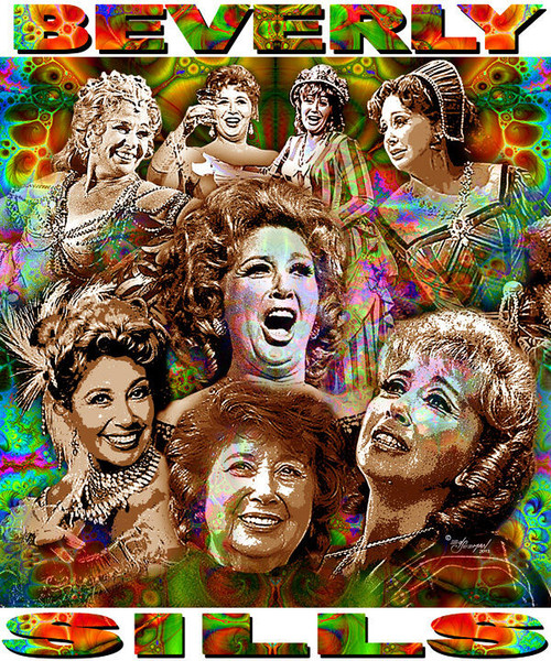 Beverly Sills Tribute T-Shirt or Poster Print by Ed Seeman