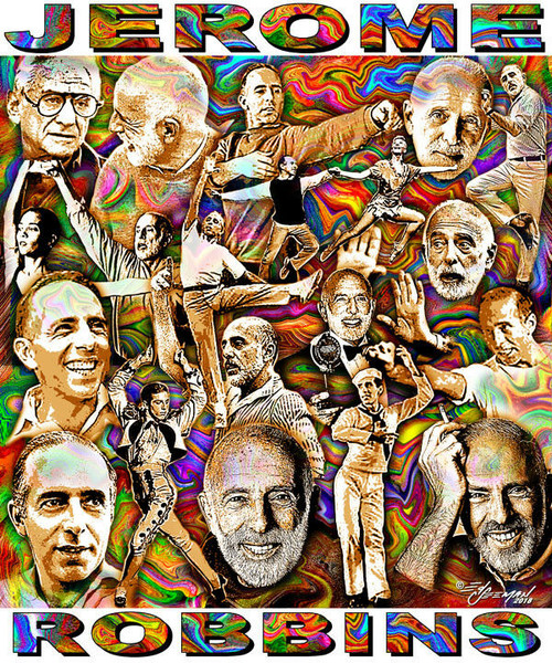 Jerome Robbins Tribute T-Shirt or Poster Print by Ed Seeman