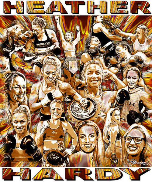 Heather Hardy Tribute T-Shirt or Poster Print by Ed Seeman