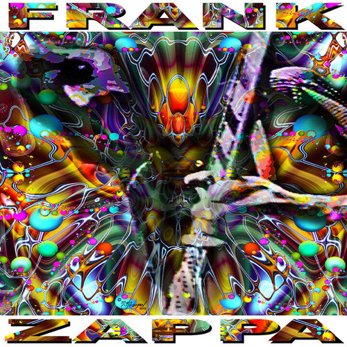 Frank Zappa Psychedelic Tribute T-Shirt or Poster Print by Ed Seeman