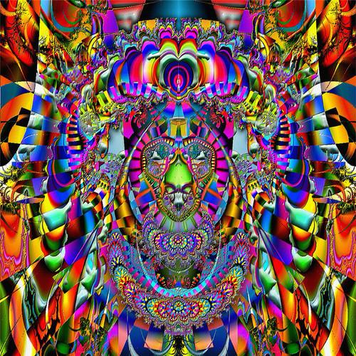 Kaleidoscopia T-Shirt or Poster Print by Ed Seeman