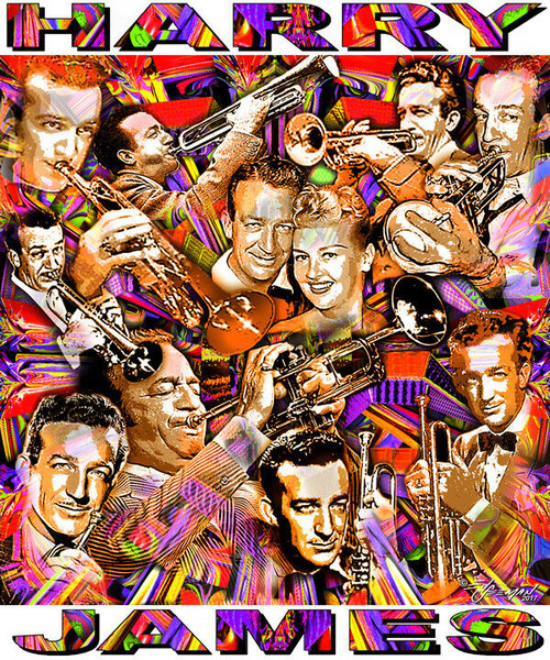 Harry James T-Shirt or Poster Print by Ed Seeman