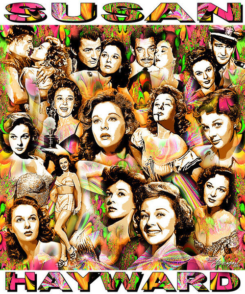 Susan Hayward Tribute T-Shirt or Poster Print by Ed Seeman