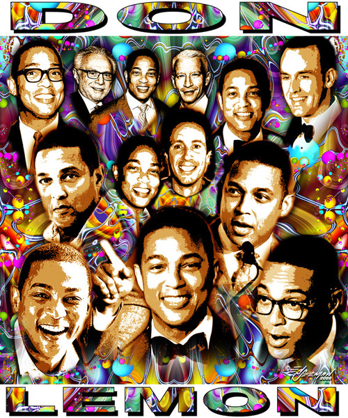 DON LEMON T-SHIRT OR POSTER BY ED SEEMAN