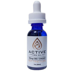 Active CBD Oil Pet Tincture - Chicken flavored