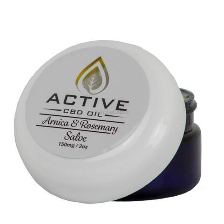 Active CBD Oil Super Strength Salve 150mgs - 1100mg