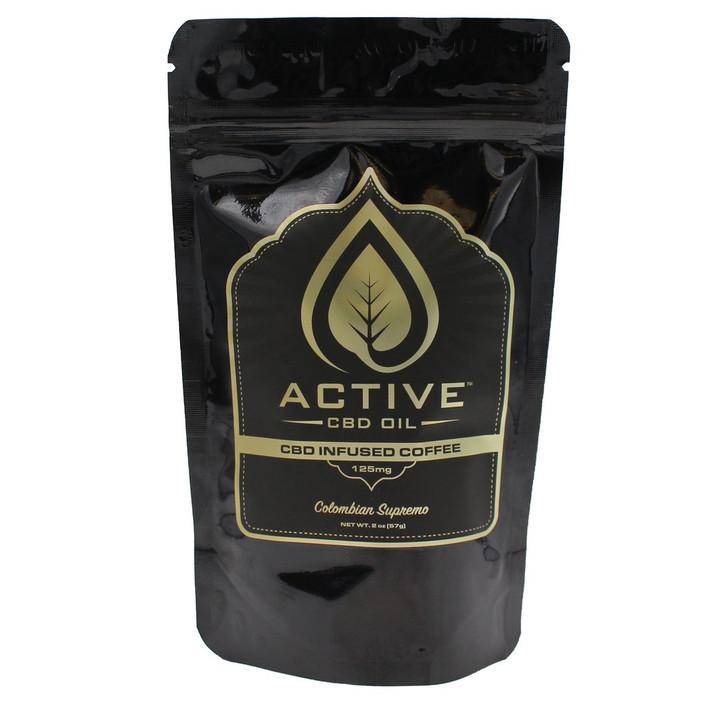 'Active CBD Oil' - CBD Infused Coffee 8oz