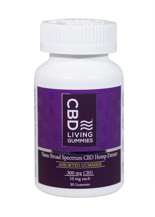 CBD Living - Gummies Assorted Flavors - 300mg